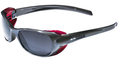 566772aff356 This durable frame has a fixed side shield for optimal wind and dust  protection. Designed to fit under helmets and head gear comfortably.